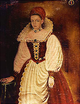 Portriat of the Countess Erzebeth Bathory